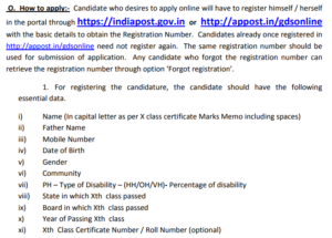 jharkhand gds apply online