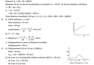 HC Verma : Concept Of Physics Chapter 3 : Rest and Motion Kinematics Solution PDF 3