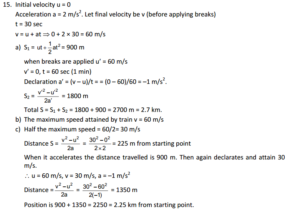 HC Verma : Concept Of Physics Chapter 3 : Rest and Motion Kinematics Solution PDF 6