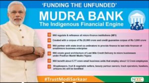 PM Modi Mudra Loan scheme information