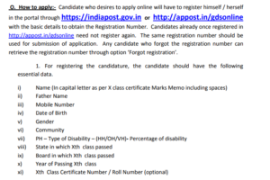 How to apply for mp post GDS