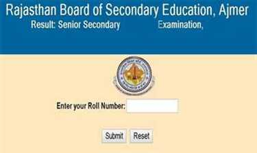 rajasthan board class 12 result