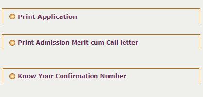 Print iti merit cum call letter
