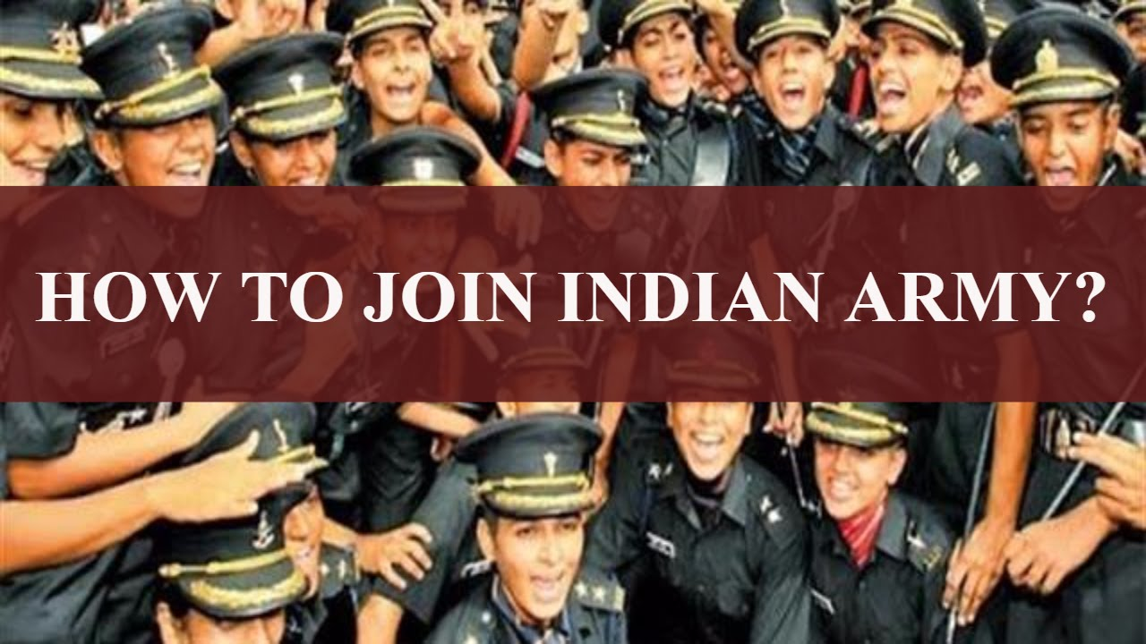 how to join indian army ?