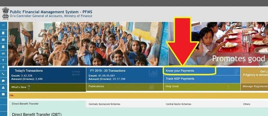 Uttar Pradesh UP Scholarship Status 2020-21 : scholarship.up.nic.in & pfms.nic.in 2