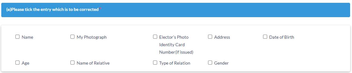 change details in voter id
