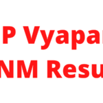 MP Vyapam ANM Result 2021: MPPEB ANMTST Cut Off Marks and Merit List 1